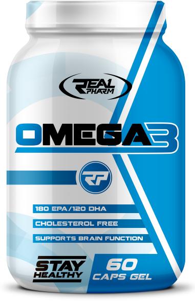 Omega 3 Real Pharm 60 caps.