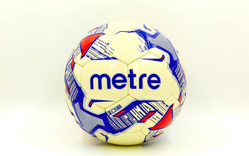 М'яч футбольний METRE №5 PU FB-5217
