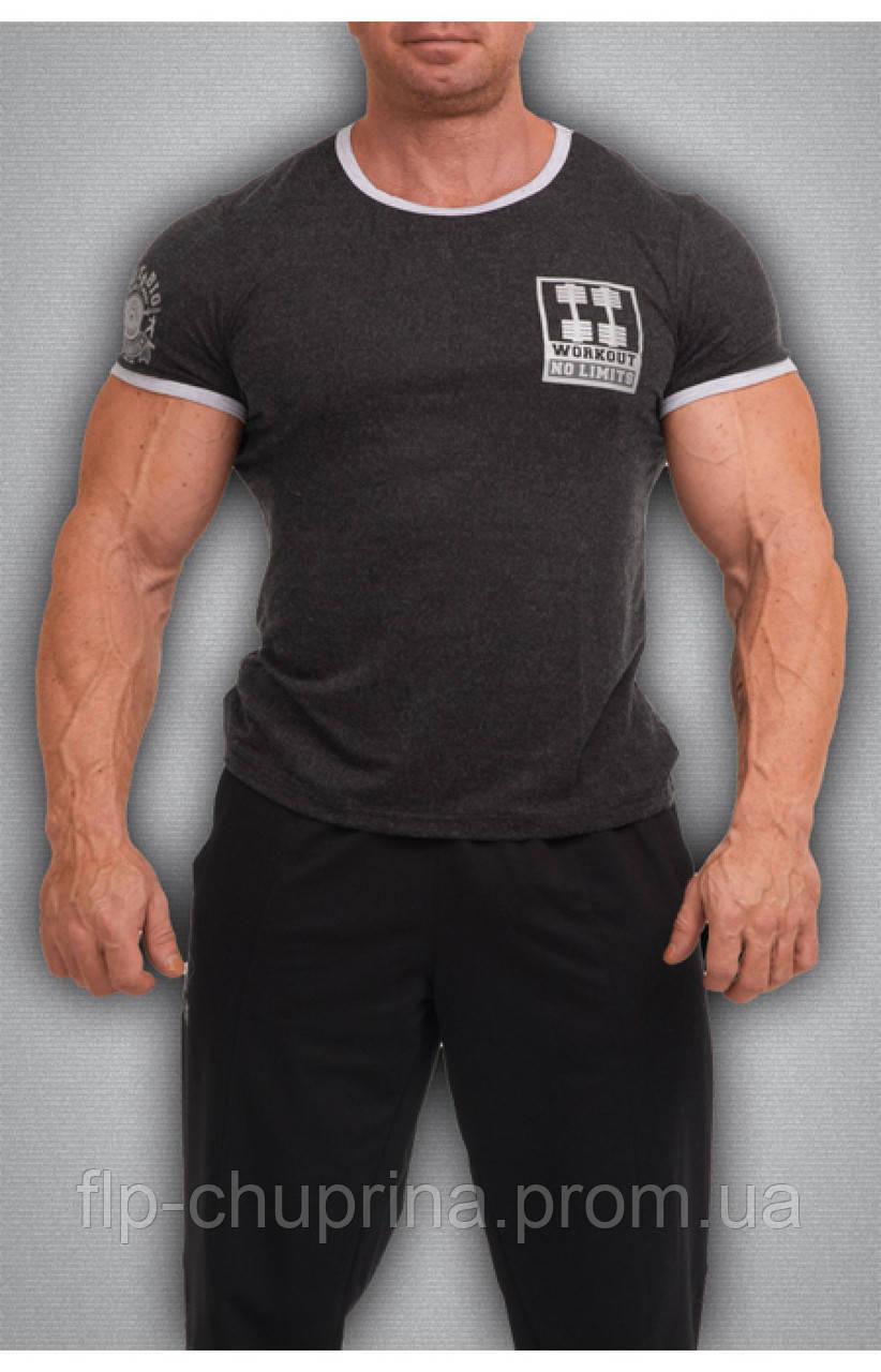 Мужская футболка черная
