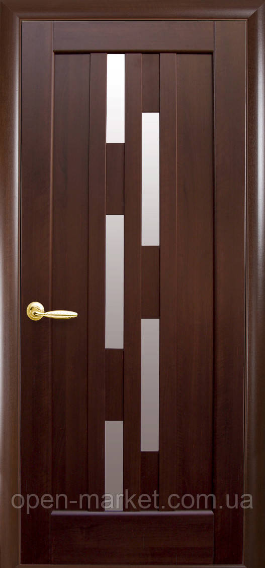 Модель Лаура скло міжкімнатні двері, Миколаїв