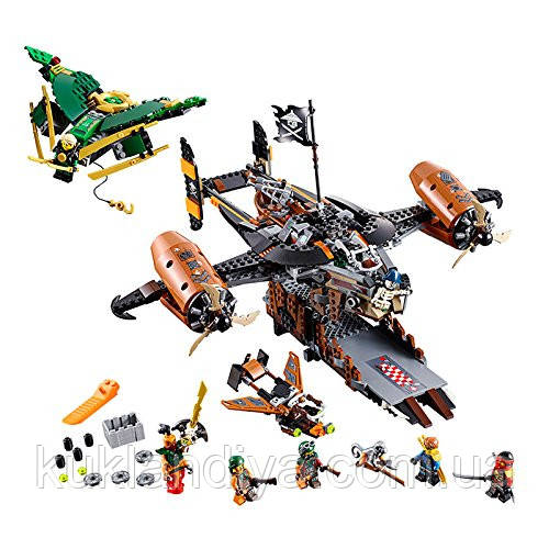 Конструктор LEGO Ninjago Цитадель Master of Spinjitsu