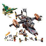 Конструктор LEGO Ninjago Цитадель Несчастья, фото 6