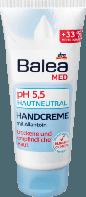 Balea Med Handcreme pH 5,5 hautneutral, 100 ml - Крем для чувствительной кожи рук, нейтральный  pH 5,5, 100 мл