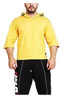 Мужская футболка желтая, фото 1