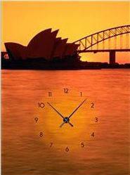"""Картина-часы (50х70 см) """"Австралия"""""""