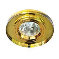 Точечный светильник Feron 8060-2 желтый, фото 1