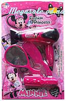 """Детский игровой набор салон красоты """"Minnie"""" (набор аксессуаров для девочки): 4 предмета"""