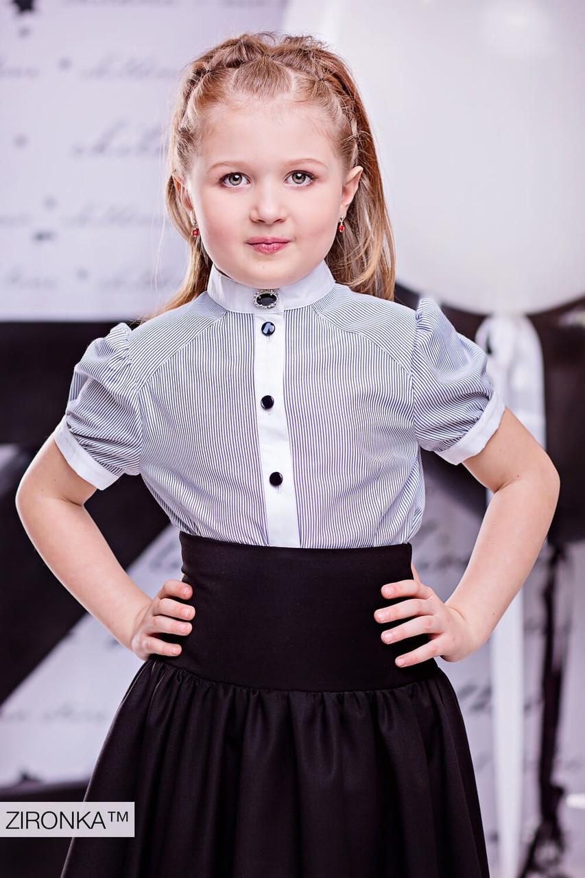 e6e45c33b0c Блузка школьная для девочки