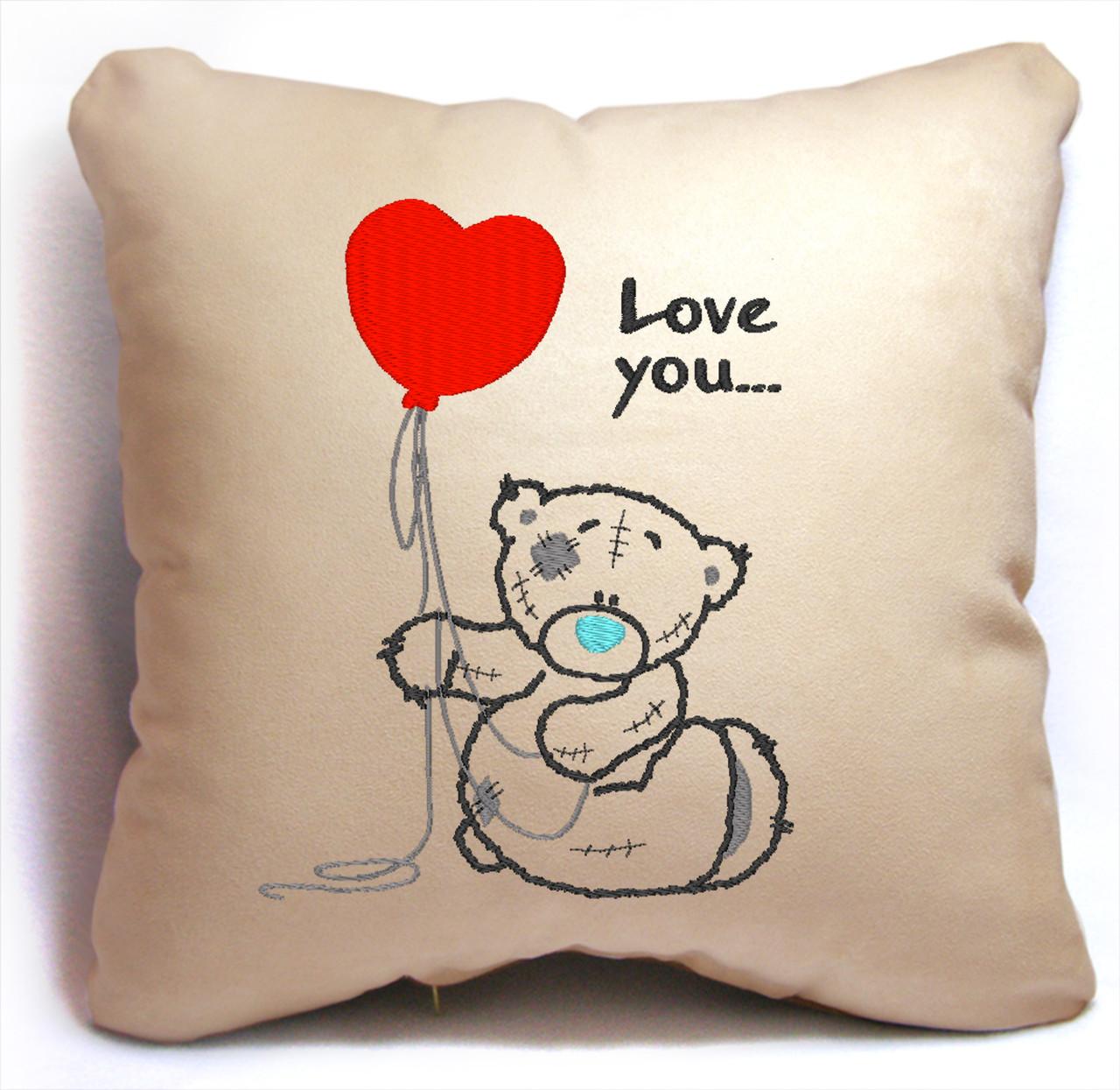 "Подарочная подушка ""Мишка Teddy"" 04"