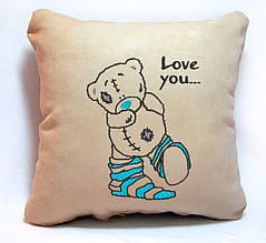 "Подарочная подушка ""Мишка Teddy"" 05"