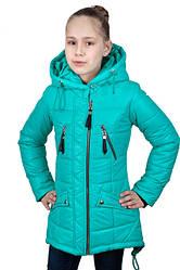 Весна куртки, плащи, парки, ветровки для девочек