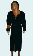 Халат мужской пушистый c капюшоном фирмы MASSIMO MONELLI
