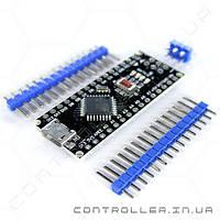 Arduino Nano 3.0 ATMega168 ножки не распаяны MicroUSB