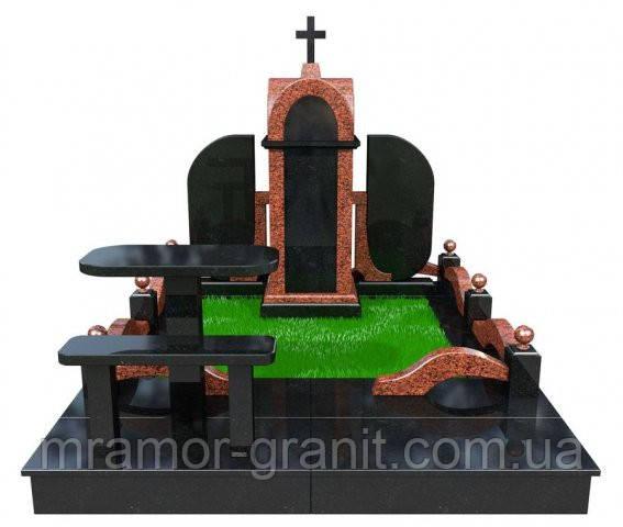 Мемориальный комплекс из гранита П - ЭМК 123