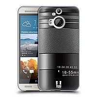 Силиконовый чехол для HTC One M9 Plus узор Фотокамера нео