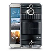 Силиконовый чехол для HTC One M9 Plus узор Фотокамера
