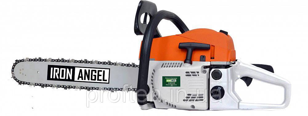 Бензопила Iron Angel CS 520 (3.5 л.с.., шина 45 см) Бесплатная доставка