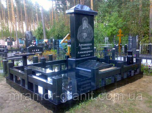 Мемориальный комплекс из гранита П - ЭМК 150