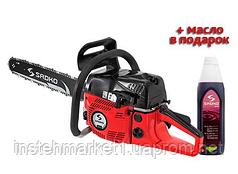 Бензопила цепная Sadko GCS-510E (2,2 кВт / 3 л.с.) Бесплатная доставка!