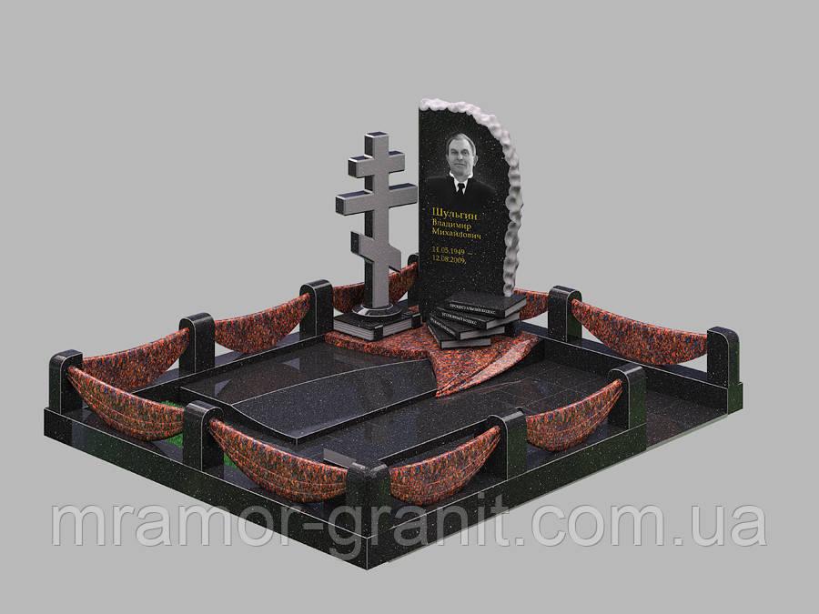 Мемориальный комплекс из гранита П - ЭМК 153