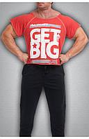 Мужская футболка красная