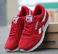 Женские кроссовки Reebok Classic красные