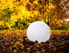 Декоративный сферический светильник MUNDAN белый 30см
