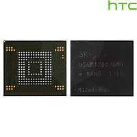 Микросхема памяти H26M42003GMR / KMSJS000KA-B308 для HTC Desire SV T326e, оригинал