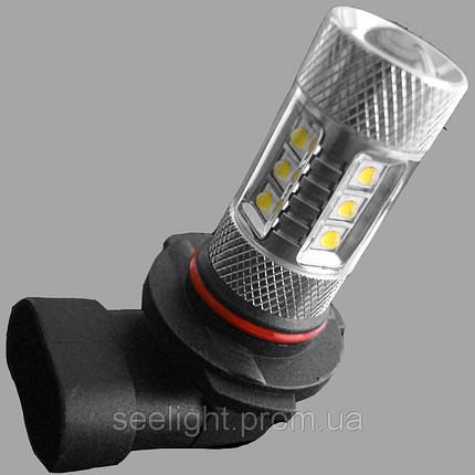Автомобильная светодиодная лампа с цоколем Н10(9145) PY20d Cree+Epistar 80W 1000lm в противотуманные фонари, фото 2