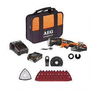 Аккумуляторный многофункциональный инструмент AEG OMNI 18C LI-152B KIT1