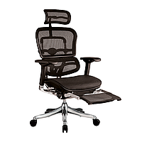 Кресло Ergohuman Plus сетка черная с подставкой для ног (Comfort Seating-ТМ)
