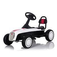 Детский веломобиль-машина M 3413-1, белый***