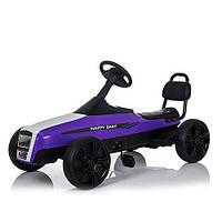 Детский Карт педальный M 3412-9, фиолетовый***