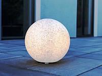 LED светильник сферический декоративный MUNDAN серый 30см