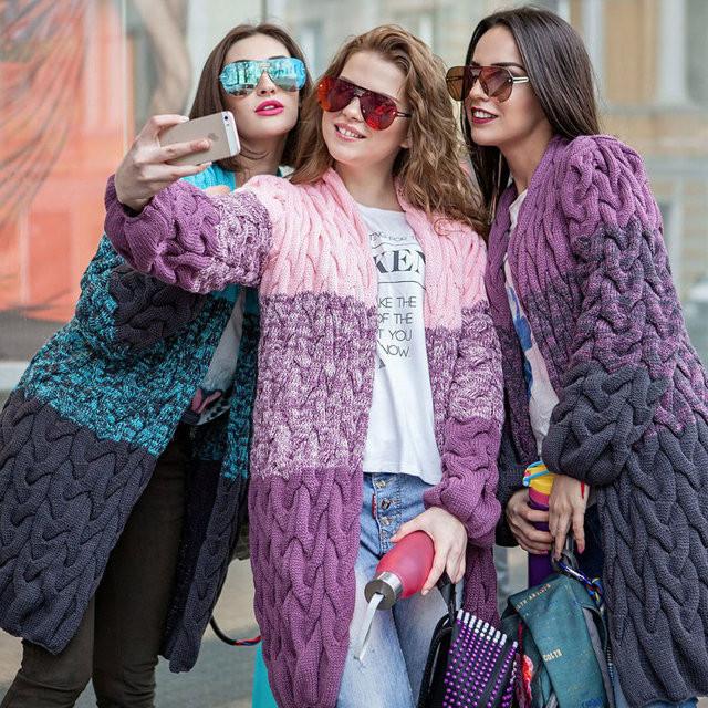женский модный вязаный кардиган джейн лало цена 569 грн купить в