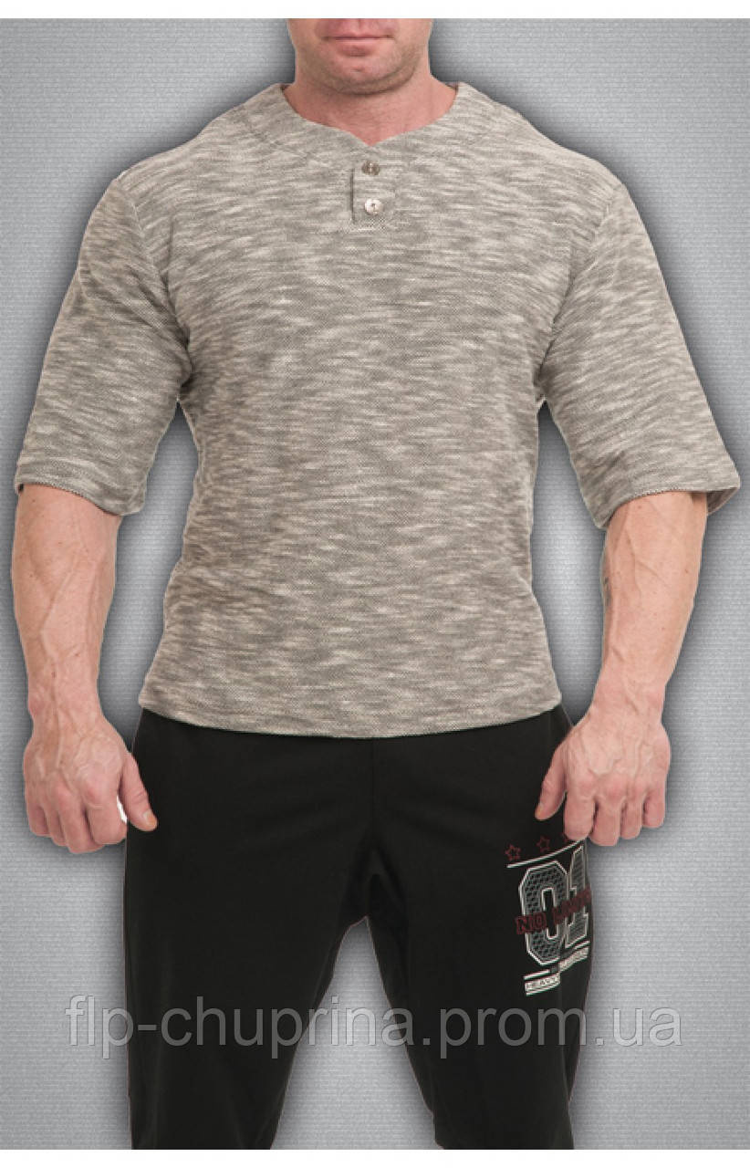 Мужская футболка темно серая