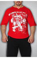 Чоловіча футболка червона