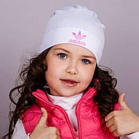 Демисезонная спортивная шапка для девочек
