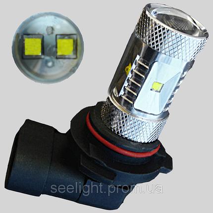Автомобильная светодиодная лампа с цоколем Н10(9145) PY20d Cree-10/30V-NP-30W в противотуманные фонари, фото 2