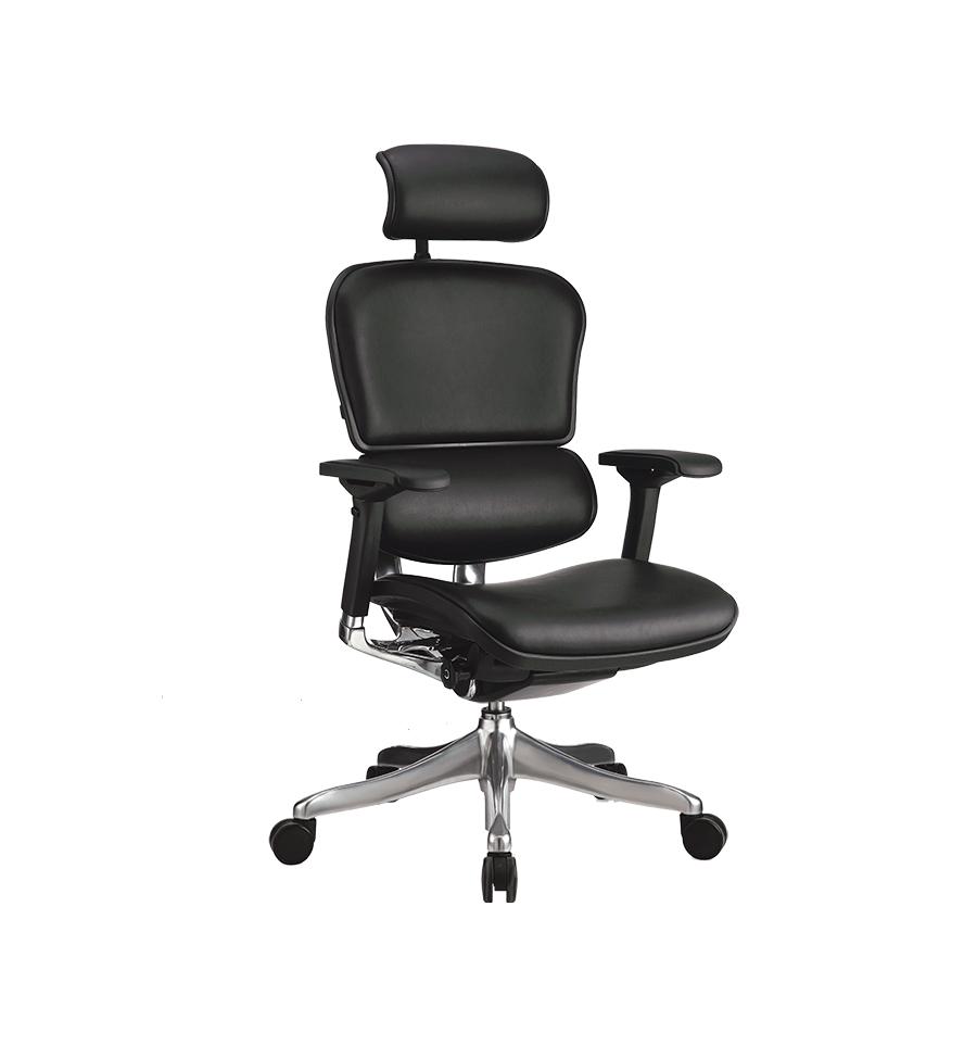 Кресло Ergohuman Plus кожа черная (Comfort Seating-ТМ)