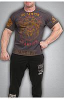 Чоловіча футболка темно сіра