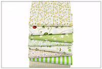 Набор тканей (Ткань) для Пэчворка 40x50 см 8 шт