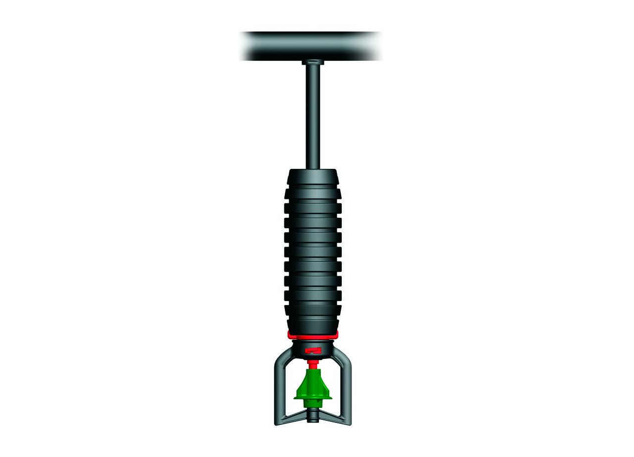 Насадка подвесного микродождевателя  AZUD RAINTEC 100L перевернутая