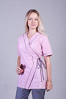 Медицинский женский костюм на завязках К-2236