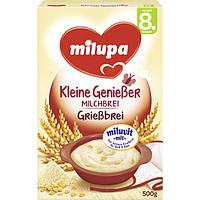 Milupa Kleine Genießer Milchbrei Grießbrei - Молочная манная каша с кукурузными хлопьями, с 8 месяца, 500 г