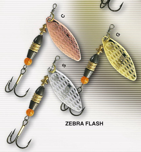 Блешня обертається jaxon Zebra 12 g колір З
