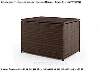 Сундук Скалота 100х70х72, Модерн, мебель из искусственного ротанга, ящик, мебель для сада, мебель для бассейна