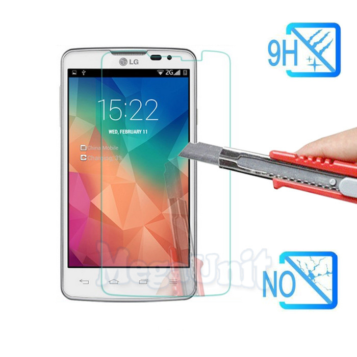 Защитное стекло Tempered Glass для LG L60/L60i (x135/x145) твердость 9H, 2.5D