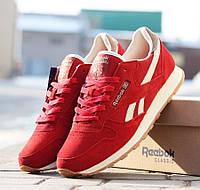 Кроссовки мужские Reebok Classic красные