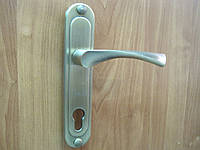 Ручка дверная S.D 302-85 mm старая бронза